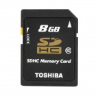 Genuine TOSHIBA SD-K08GR7WA SD Memory Card - Black (8GB)