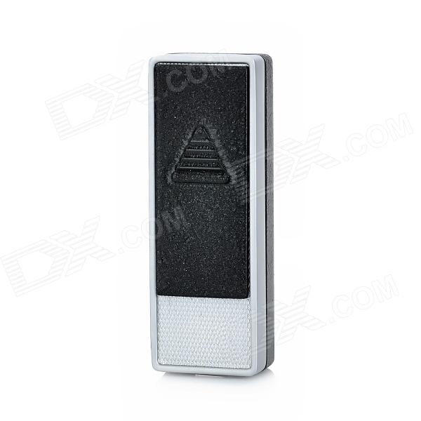BAOFA BF-826-1 Windproof USB Rechargeable Electronic Cigarette Lighter - Black fly eagle fe808 usb rechargeable electronic cigarette lighter keychain green