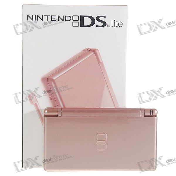 Nintendo DS Lite Portable Entertainment Console Limited Edition - Rose (Refurbished)
