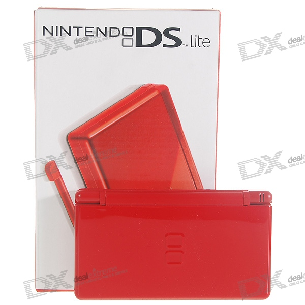 Nintendo DS Lite Portable Entertainment Console Limited Edition - Red (Refurbished)