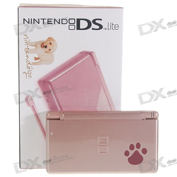 Nintendo DS Lite Portable Entertainment Console Limited Edition - Nintendogs (Refurbished)