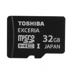 Genuine TOSHIBA SD-C32GR7WA3 SDHC / TF Memory Card - Black (32GB)