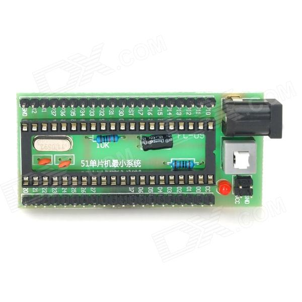 Series MCU Minimum System Development Board - Black + Green