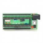 51 Series MCU Minimum System Development Board - Black + Green