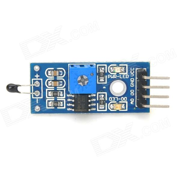 Thermistor Sensor Module - Blue official doit thermistor relay control module temperature sensor detection switch 5v 12v robot diy rc electronic toy robot