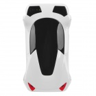 Sports Car Style Protective Plastic Case for iPhone 5 - White