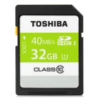 Genuine TOSHIBA SD-C32GR7WA3 SD Memory Card - Black (32GB)