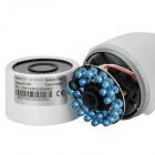 "Zhueran ZEA-AFS004 Water Resistant 1/3"" CMOS 600TVL Surveillance Camera w/ 20-IR LED - White (PAL)"