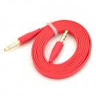 3.5mm Male to Male Audio Connection Cable - Red (100cm)