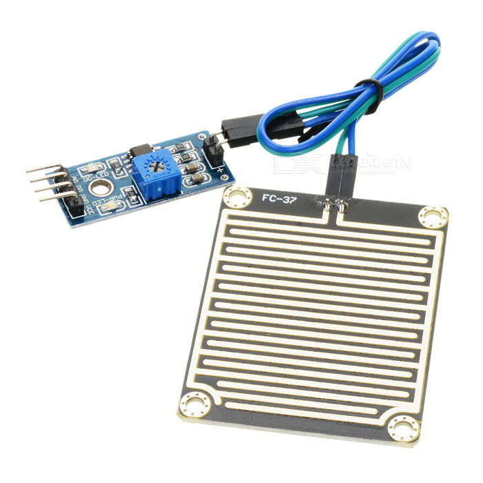 Raindrops Sensor Module - Blue + Black