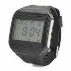 HD-215 1.6'' LCD Screen Bluetooth V2.0 Wrist Watch w/ Microphone - Black