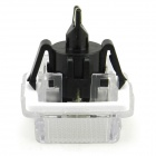 T10 3W 126lm 18-SMD 3528 LED blanco License Plate Light Luz del coche para el Benz W204/W212/W216 (2 PCS)