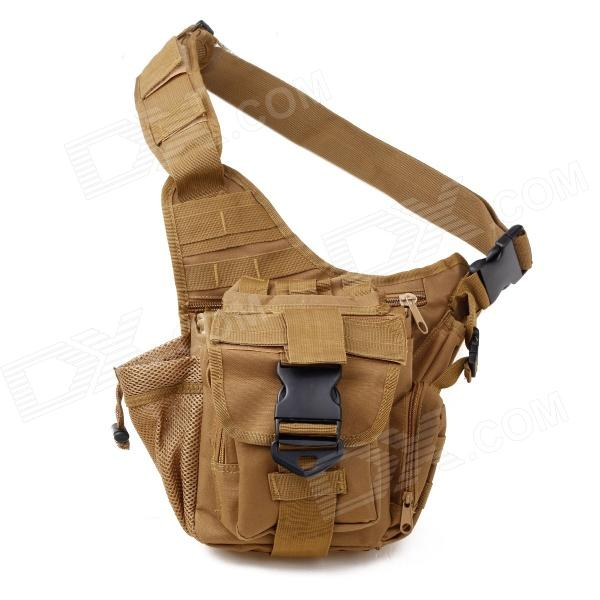 Tactical Outdoor One Shoulder Knapsack Bag - Coyote Tan (28L)