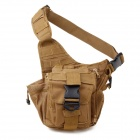 Tactical Outdoor One Shoulder Camera Bag - Coyote Tan (28L)