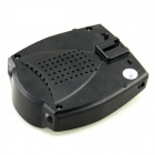 A381R Full Band Vehicle Car Radar Detector for GPS Navigator - Black (Russian Voice)