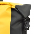 Water Sport Protective Nylon Waterproof Bag w/ Buckle - Yellow (20L)