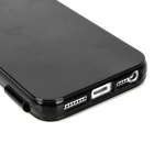 Protective TPU Flip Open Case for Iphone 5 - Black