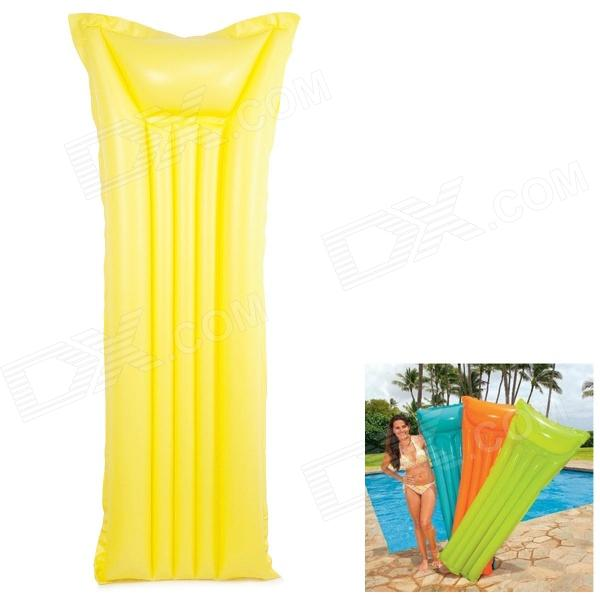 WIN.MAX WMB07705 Security Floating Anti-Leak PVC Air Mat - Yellow