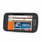"MBO M116 Android 4.0 GSM Smartphone w/ 4.0"" Capacitive Screen, Quad-Band, Wi-Fi, Dual-SIM - Black"
