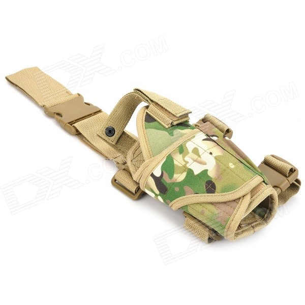 Military Outdoor War Game Gun Pistol Holster - Camouflage fire maple sw28888 outdoor tactical motorcycling wild game abs helmet khaki