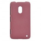 Ultra-Slim Matte PC Back Case for Nokia Lumia 620 - Maroon