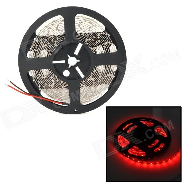 24W 1800lm Red 300-SMD 3528 LED Strip Light - White (5M / 12V)3528 SMD Strips<br>MaterialFPCEmitterForm  ColorWhiteQuantity1Power4WChip BrandEpistar,OthersEmitter Type3528 SMD LEDTotal Emitters300LightColor BINRedWavelength640~650Power AdapterOthersCertificationCEPackingPacking List<br>