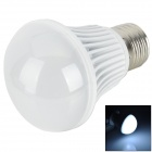 HT-QP-5W-02-ZBG E27 5W 300 ~ 450lm 6500K 5-LED White Light Bulb - White