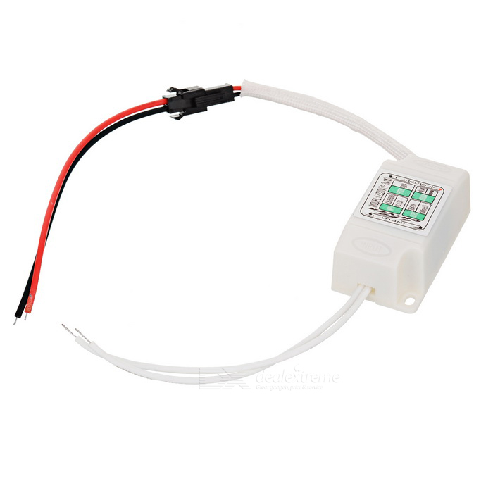 3W Constant Current LED Driver for Down / Ceiling Lamp / Spotlight - White (85~265V)