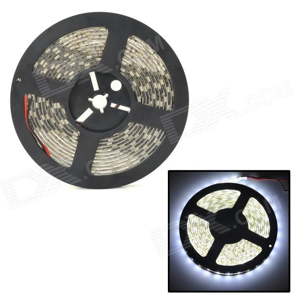DXG-001 72W Waterproof 3000lm 6500K White 300-SMD 5050 LED Strip Light - White + Yellow (5M / 12V) zdm waterproof 72w 200lm 470nm 300 smd 5050 led blue light strip white grey dc 12v 5m