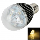 KD-WXQP-NBG E27 5W 350lm 3500K 5-LED Warm White Light Lamp Bulb - Black (85~265V)