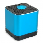 BT-948 Portable Bluetooth v2.1 + EDR Speaker w/ Microphone - Blue + Black
