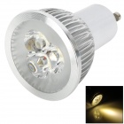 LGX130302Q G10 3W 120lm 3500K 3-SMD LED Warm White Light Spotlight - White (85~240V)