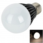 HT-QP-5W-01-NBG E27 5W 300~450lm 3500K 5-LED Warm White Light Bulb - Black