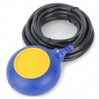 Float Level Switch for Water Tank / Tower / Pond - Yellow + Blue (5m)