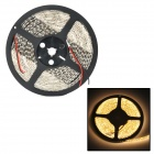TIP-001 48W 1800lm 3000K Warm White 600-SMD 3528 LED Strip Light - White + Black (5M / 12V)