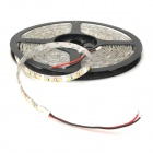 Tips-001 48W 1800lm 3000K varm vit 600-SMD 3528 LED Strip ljus - vit + svart (5M / 12V)