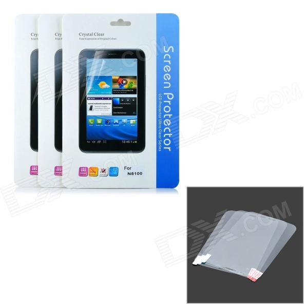 Protective Clear Screen Protector Film Guard for Samsung Galaxy Note 8.0 N5100 - Transparent (3 PCS)