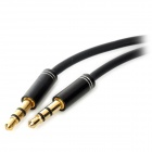 3.5mm Male to Male Audio Connection Cable - Black (100cm)