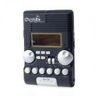 "Cherub WRW-106 7"" LCD Screen Drum Rhythm Trainer Metronome - Black"