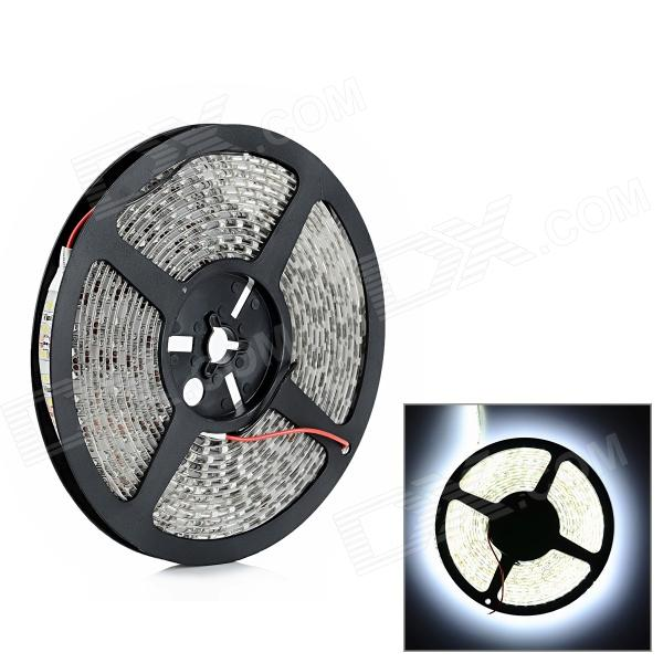 Impermeable 48W 1800lm 600-3528 SMD LED de luz blanca de coches Decoración de tira flexible (DC 12V / 5m)