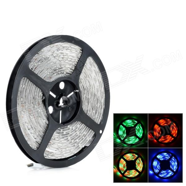 TIP-003 Waterproof 24W 300~400lm 300-SMD 3528 LED RGB Light Strip (5m)