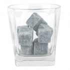 DL-9 Whiskey Beer Marble Ice Stone Cooler - Grey