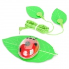 Beetle Shape Electric Body Slimmer Sticker - Green + Black + Red (1 x CR2032)