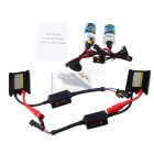 Explorer H3 35W 4300K 3200lm Light Yellow Light HID Xenon Lamps w/ Ballasts Kit (DC 12V / 2 PCS)