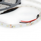 Impermeável 24W 1200lm 300-3528 SMD Cold White Light Car Strip