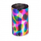 Colorful Egg Pattern Shining Nail Art Tin Foil Paper