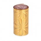 Shining Golden Snowflake Patten Nail Art Tin Foil Paper