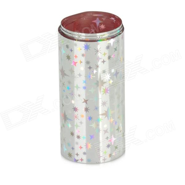 Starry Sky Shining Silver Nail Art Tin Foil Paper от DX.com INT