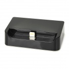 Mini Data / Charging Docking Station w/ 8-Pin Lightning Connector for iPhone 5 - Black