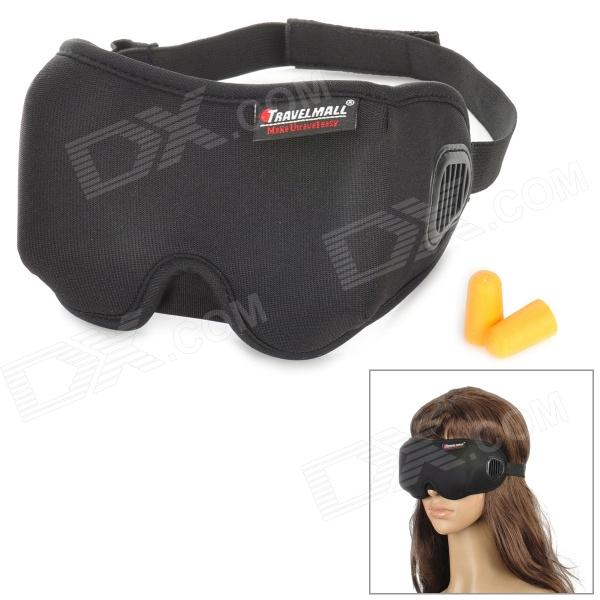 Travelmall 3D Health Care Shading Eyeshade - Black